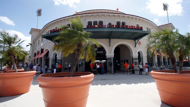 Ed Smith Stadium was rated the best baseball park in Florida, just a few years after being the stadium no team wanted.