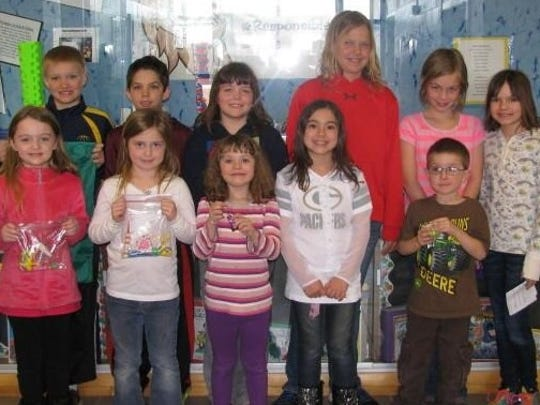 Maine Lion Loot winners Lion Loot winners for the week of April 11 at Maine Elementary School are Cailee Z., Kate S., Taylor P., Janell R., Peyton F., Brandon L., Connor C., Katy G., Lauren O., Isabelle S. and McKenzie W.