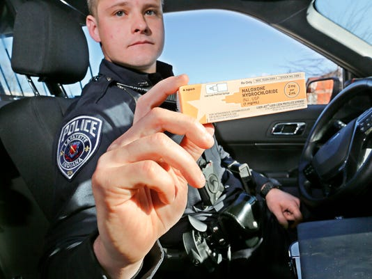LAF Ninety Lafayette patrol officers begin carrying overdose antidote