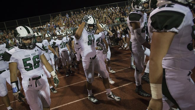 The Fossil Ridge football team missed the 5A playoffs after going 7-3 in 2016. A new RPI formula to determine playoff fields was approved Thursday.