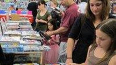 The Comic Book Shop is sponsoring a July donation drive.