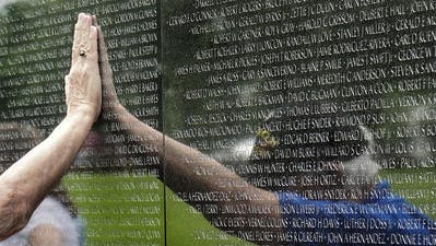The Vietnam Veterans Memorial in Washington, D.C. A smaller, mobile version of the wall will come to Livonia in 2019, the city announced Tuesday.