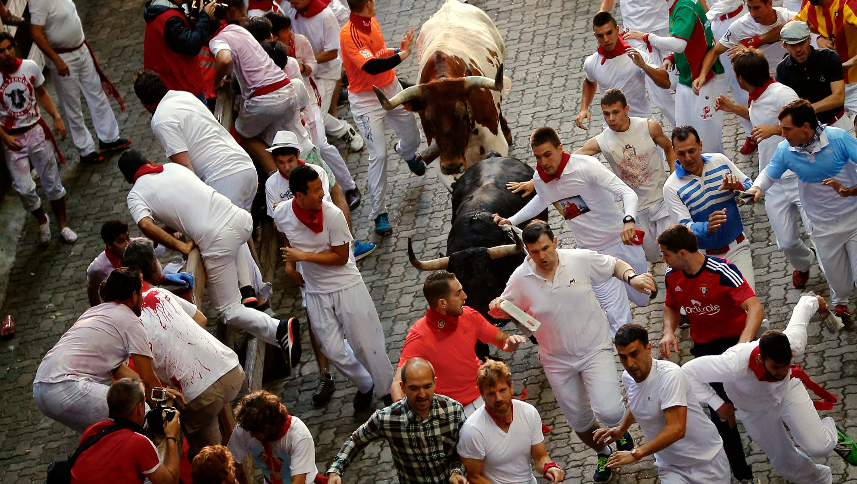 running of the bulls Running of the bulls® 2019 tour packages & pamplona tours known around the world for the running of the bulls®, the san fermin festival in pamplona offers an unparalleled experience as the city welcomes the week long fiesta after hosting more than 15,000 people in pamplona, we've perfected the art of making the most of your pamplona trip.
