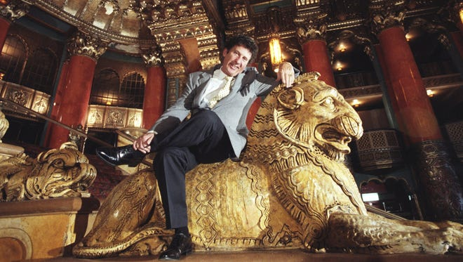 Mike Ilitch at the Fox Theater in 1987.