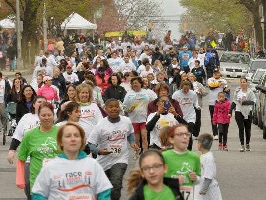 Saturday's Race Against Racism is a chip-timed 5k run