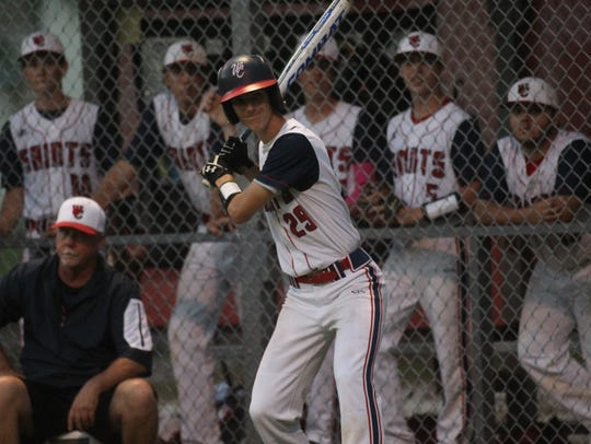 Wakulla Christian's Jacob Dismuke waits in the on-deck