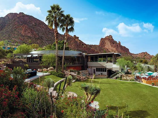 Sanctuary Camelback Mountain Resort and Spa sits at