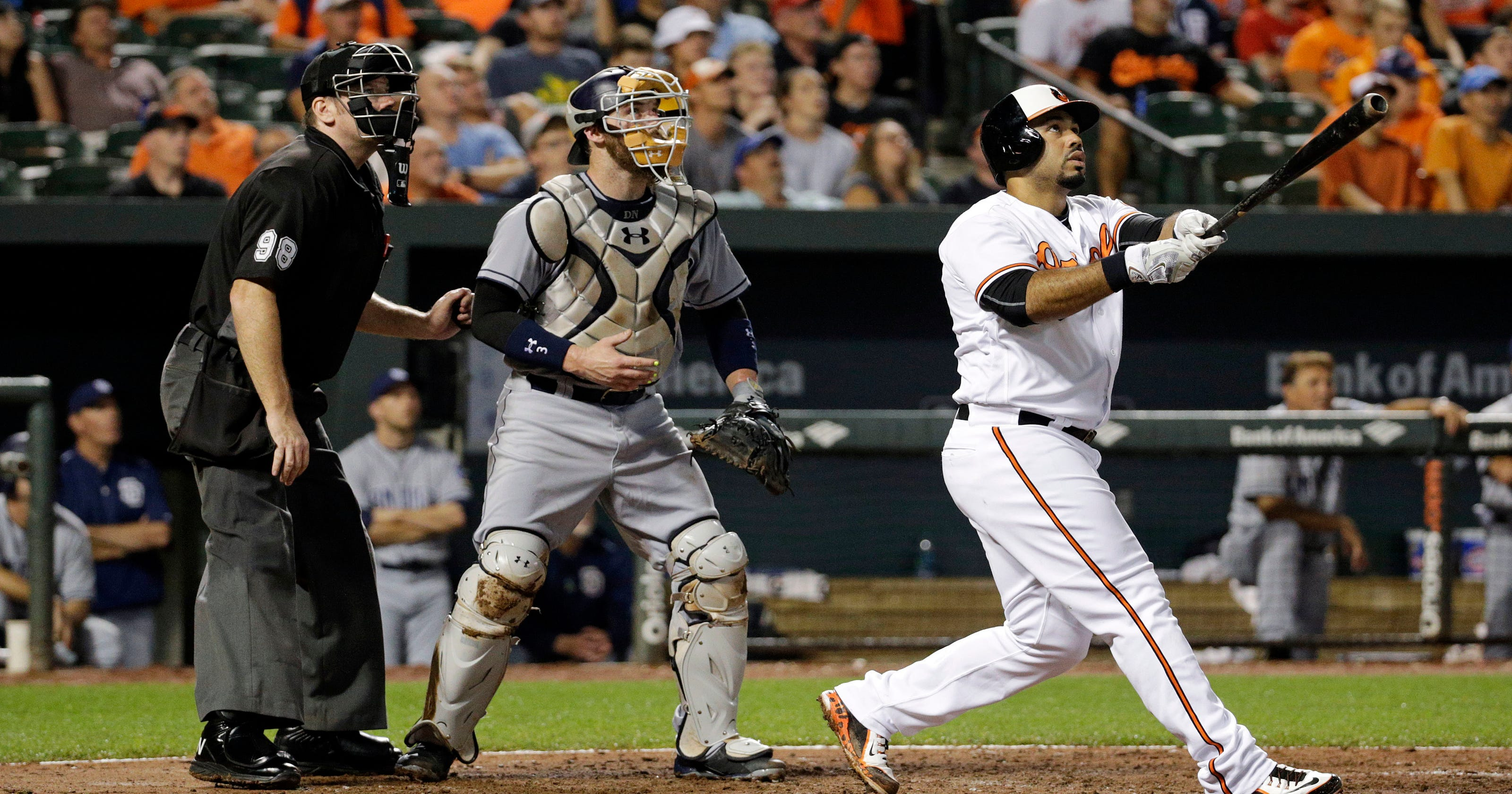 7934058f254 Kemp has 4 hits as Padres rally past Orioles 10-7