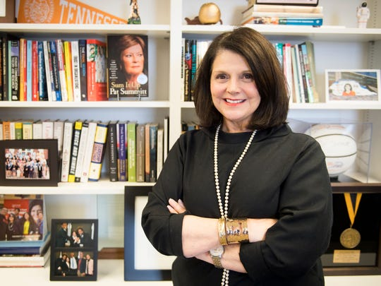 """I've had a successful year,"" University of Tennessee Chancellor Beverly Davenport said. ""I think a leader's greatest responsibility is to foster hope, and I think I've done that."""
