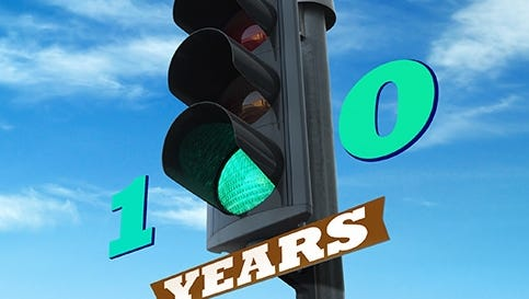 It's the 100th anniversary of the electric traffic light