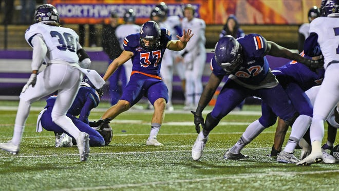 Northwestern State's Chris Moore has been named a third-team All-American.
