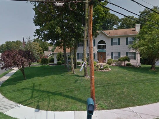 This Google Street View image shows the approximate location of 4 Wood Avenue in Englishtown. The property at this address changed hands in May 2019, when John Reyes bought the property from William T and Nancy Murphy for $470,000.