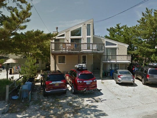 This Google Street View image shows the approximate location of 7706 Ocean Blvd in Long Beach Township. The property at this address changed hands in May 2019, when John and Sandra Vojta bought the property from Fred and Delores A Fischer for $965,000.
