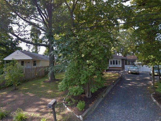 This Google Street View image shows the approximate location of 213 Anthony Avenue in Toms River. The property at this address changed hands in May 2019, when Peter Jr Peterson bought the property from Michael and Bernadine Rabe for $200,000.