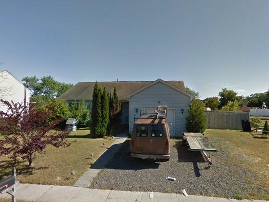 This Google Street View image shows the approximate location of 6 Red Coat Drive in Barnegat. The property at this address changed hands in March 2019, when Linda L Haroll bought the property from Riverstone Lofts And Apts LLC for $239,900.