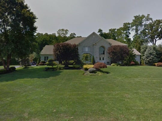 This Google Street View image shows the approximate location of 4 Maple Leaf Drive in Holmdel. The property at this address changed hands in April 2019, when  Anastasiabeaverhousing LLC  bought the property from Michael J and Carmella Burke  for $1,950,000.