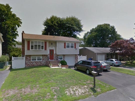 This Google Street View image shows the approximate location of 801 Linden Road in Toms River. The property at this address changed hands in March 2019, when Michael and Katelyn E Dipasquale bought the property from Lawrence Difabio Jr{dot}  and Ashley Difabio  for $275,000.