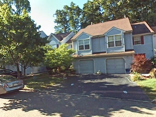 This Google Street View image shows the approximate location of 111 Rumford Way in Manalapan. The property at this address changed hands in May 2019, when  Valeria Moscova  bought the property from Michael and Marissa Navara  for $315,000.