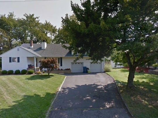 This Google Street View image shows the approximate location of 10 Homestead Place in Holmdel. The property at this address changed hands in May 2019, when Roman and Lyudmyla Dovgopol  bought the property from Eduardo and Goreti Desousa  for $535,000.