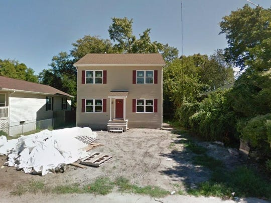 This Google Street View image shows the approximate location of 416 Myrtle Ave{dot} in Neptune. The property at this address changed hands in May 2019, when Donall A and Monique S Byrd  bought the property from  Brian M Clark  for $270,000.