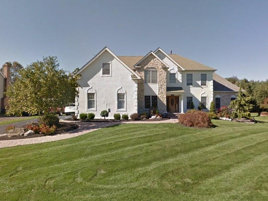 This Google Street View image shows the approximate location of 120 Country Club Drive in Moorestown. The property at this address changed hands in May 2019, when Saqib Rashid and Rashid Ahmad bought the property from William S and Lynn M Woyshner for $865,000.