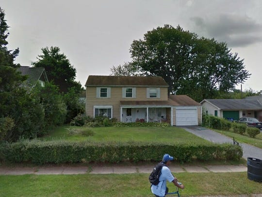 This Google Street View image shows the approximate location of 24 Peachfield Lane in Willingboro. The property at this address changed hands in April 2019, when Mamie W Purnell bought the property from David and Sylvana Acolia for $215,000.
