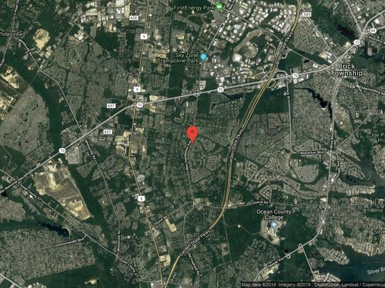 This aerial photo shows the approximate location of 2255 S{dot} Chanticleer Court in Toms River. The property at this address changed hands in May 2019, when  Juan Tenreiro and  Alisa M Berrios  bought the property from Thomas and Judy A Czysz  for $350,000.
