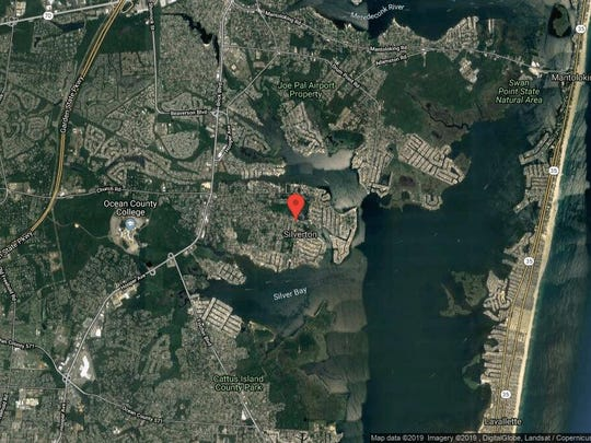 This aerial photo shows the approximate location of 296 Maine St{dot} in Toms River. The property at this address changed hands in May 2019, when  Brianna Grande  bought the property from Leo and Maryann Pappalardo  for $252,000.