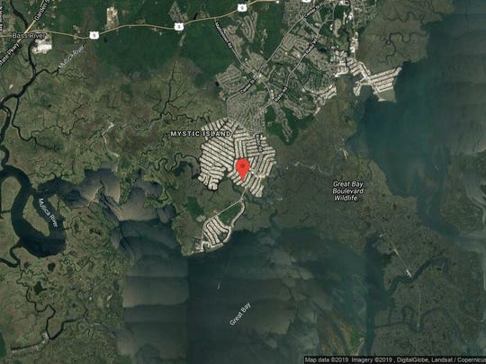 This aerial photo shows the approximate location of 137 S. Longboat Drive in Little Egg Harbor. The property at this address changed hands in May 2019, when Louis V and Phyllis Mozdzen bought the property from Marjorie H Considine for $270,000.
