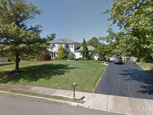 This Google Street View image shows the approximate location of 33 Washington Drive in Cranbury. The property at this address changed hands in June 2019, when Aleksandr and Ania Khislavskiy bought the property from Anil V and Manisha A Padhye for $835,000.