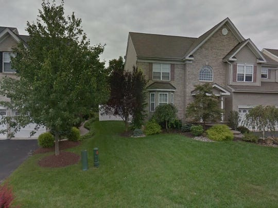 This Google Street View image shows the approximate location of 8 Treetops Cir in Franklin. The property at this address changed hands in May 2019, when Dhirenkumar and Kiran Mehta bought the property from Shony Mathews and Ramya Easow for $580,000.