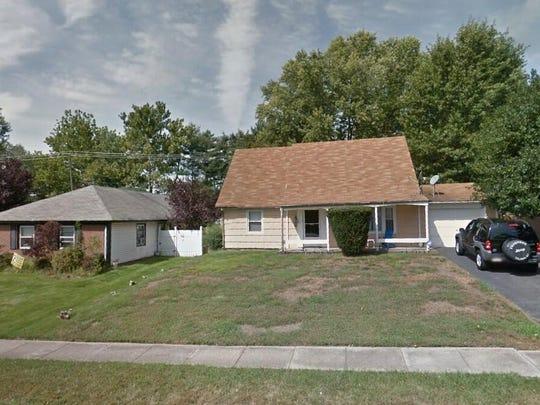 This Google Street View image shows the approximate location of 71 Hamilton Lane in Willingboro. The property at this address changed hands in May 2019, when Sherine T Reid and Ruby Mcbean bought the property from Dayne A and Melissa Edwards for $173,000.