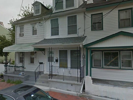 This Google Street View image shows the approximate location of 517 Lawrence St. in Burlington City. The property at this address changed hands in June 2019, when Dovbear Property LLC bought the property from Calozzi LLC for $57,000.
