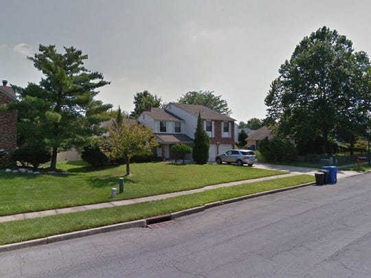 This Google Street View image shows the approximate location of 106 Longstone Drive in Cherry Hill. The property at this address changed hands in April 2019, when Antoine R Davis and Jereda K Gullatt bought the property from Magdy M, Kristiana and Maxmil Bekhit for $380,000.