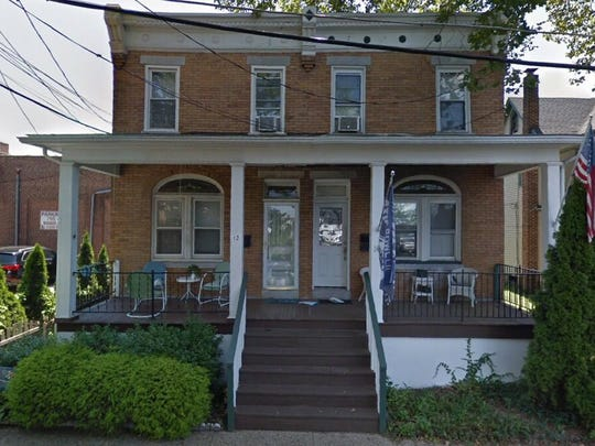 This Google Street View image shows the approximate location of 12 Irvin Ave. in Collingswood. The property at this address changed hands in May 2019, when Dennis and Lauer Christian Adams bought the property from D and Reganata D Huehnergarth for $190,000.