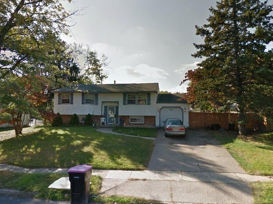 This Google Street View image shows the approximate location of 612 Hobart Drive in Gloucester Township. The property at this address changed hands in May 2019, when Victoria Lynn Schmidt bought the property from Addison Quinn Development LLC for $178,000.