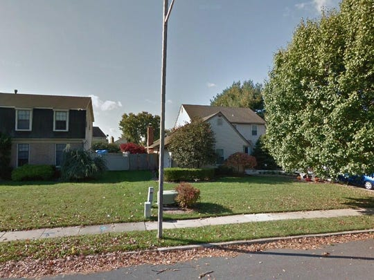 This Google Street View image shows the approximate location of 106 E. Brookline Drive in Gloucester Township. The property at this address changed hands in June 2019, when Robert Seeberger and Skyler L Priest bought the property from Dominic M and Cynthia A Funaro for $269,900.