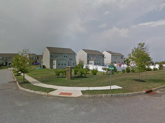 This Google Street View image shows the approximate location of 201 Kinsale Lane in Woolwich. The property at this address changed hands in May 2019, when Anthony and Nicole V Voci bought the property from Christopher S and Jenna Buretta for $260,000.