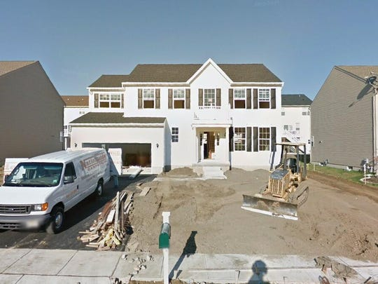 This Google Street View image shows the approximate location of 214 Peony Lane in Deptford. The property at this address changed hands in May 2019, when Anthony P and Erica G Costanzo bought the property from Eric and Laura Wygant for $323,000.