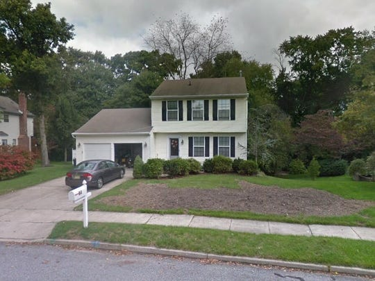This Google Street View image shows the approximate location of 14 Westwood Drive in Mantua. The property at this address changed hands in June 2019, when Jenna L Savitsky and Mark J Scurti bought the property from Gregory B and Julia C Schell for $259,900.