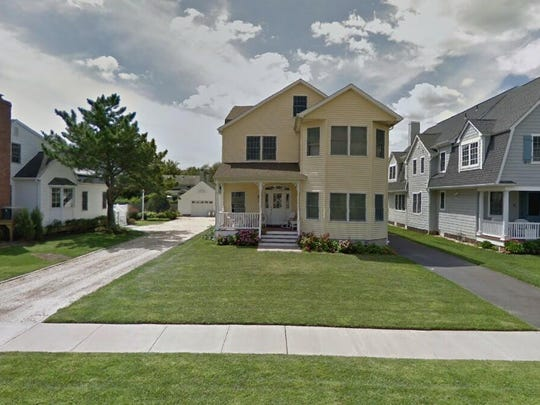 This Google Street View image shows the approximate location of 111 York Ave{dot} in Spring Lake. The property at this address changed hands in March 2019, when Samir and Sonal Shah  bought the property from  Theodore George Loya and others  for $1,760,000.