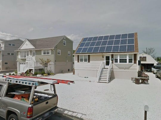 This Google Street View image shows the approximate location of 319 W{dot} 10th St{dot} in Ship Bottom. The property at this address changed hands in May 2019, when Cha and Denise Cleveland  bought the property from Albert J and Joyce Marten  for $605,000.