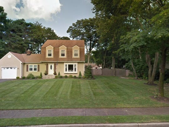This Google Street View image shows the approximate location of 117 Stone Hedge Drive in Toms River. The property at this address changed hands in June 2019, when Allyson M and Eric P Morris bought the property from Helen Wisner for $360,000.