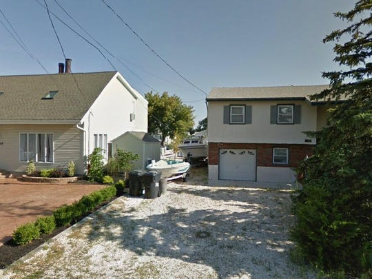 This Google Street View image shows the approximate location of 3212 Beachview Drive in Toms River. The property at this address changed hands in May 2019, when Antonio and Rosemarie D'Alterio bought the property from Dean Irwin Newton Jr. and Karan O Newton for $315,000.