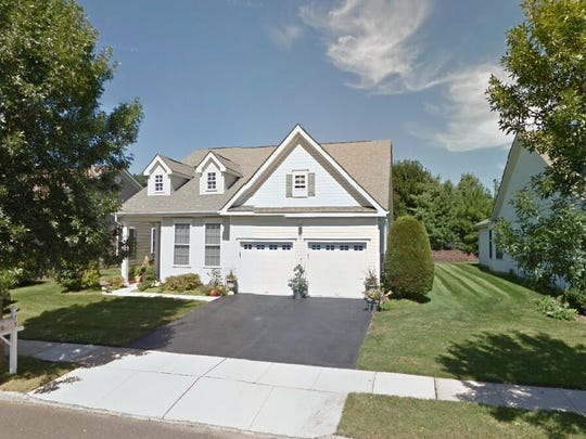 This Google Street View image shows the approximate location of 78 Labaw Drive in Cranbury. The property at this address changed hands in May 2019, when Anthony Vignuolo bought the property from George Pirocchi for $430,000.