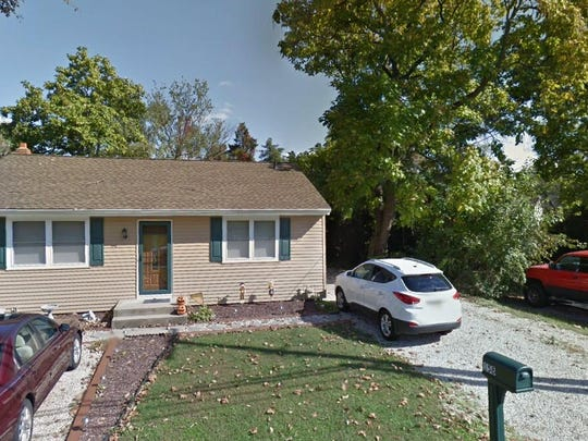 This Google Street View image shows the approximate location of 158 County House Road in East Greenwich. The property at this address changed hands in May 2019, when David A Casey and Holly H Foulke bought the property from Anthony J Cecero Jr. and Tesha A Cecero for $189,500.