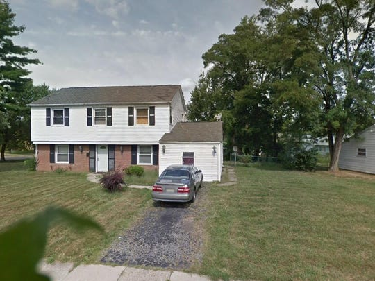 This Google Street View image shows the approximate location of 9 Midvale Lane in Willingboro. The property at this address changed hands in June 2019, when Kenley Harvey and Crystal J Epps bought the property from Arora Dream Home Properties LLC for $242,250.