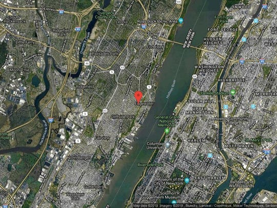 This aerial photo shows the approximate location of 200 Winston Dr-808 in Cliffside Park. The property at this address changed hands in July 2019, when new owner bought the property for $400,000.