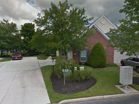 This Google Street View image shows the approximate location of 26 Grand Banks Circle in Evesham. The property at this address changed hands in August 2019, when new owners bought the property for $336,000.