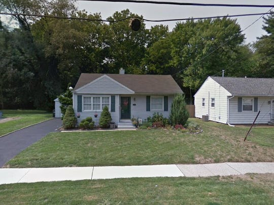 This Google Street View image shows the approximate location of 12 W. Woodcrest Ave. in Maple Shade. The property at this address changed hands in August 2019, when new owner bought the property for $187,500.